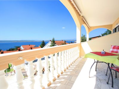 "Photo for Holiday Apartment  ""Pavica 2"" with Wi-Fi and Balcony"