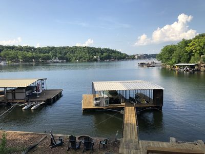 Photo for Waterfront Home with dock and Hot Tub