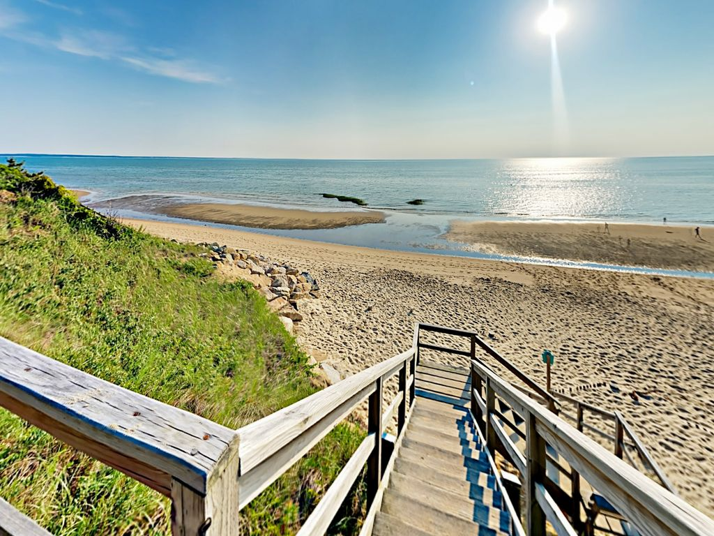 Private Cape Cod Beach Access 4BR on Forested Property w
