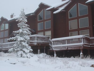 Photo for SKI IN SKI OUT  Condo at Powder Mountain Ski Resort
