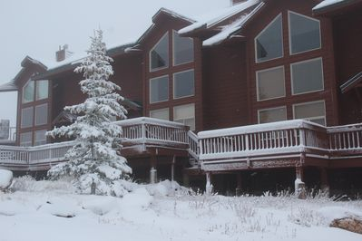 Welcome to Moon Ridge Condo, slope side at Powder Mountain