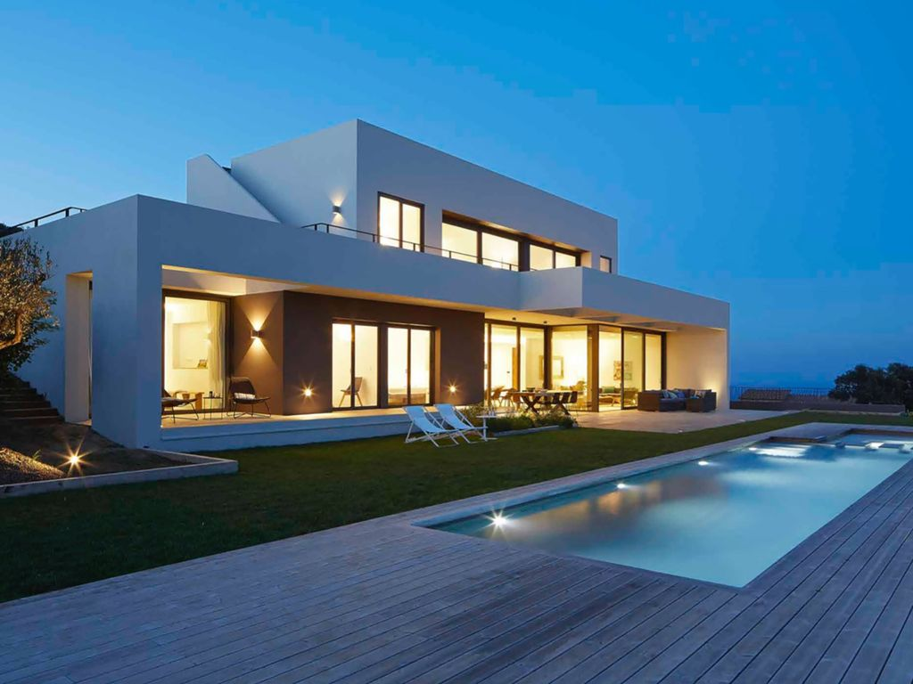 Ferienhaus am strand in begur mieten 1474390 for Petite villa design