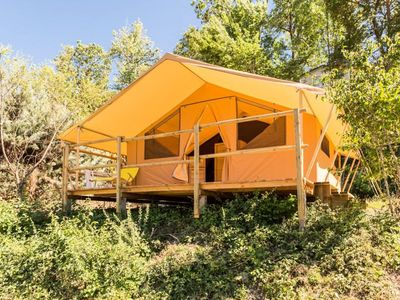 Photo for Camping des Princes d'Orange **** - Nature Canvas Tent 5 people Without Bathroom