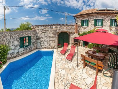 Photo for Vintage holiday home with swimming pool in Grizane