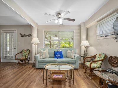Photo for Walk To The Beach!Beautiful Outdoor Furniture To Take In The Backyard!Sleeps4