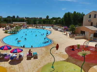 Photo for Mobilhome (Max 6 persons) - Camping **** Les Sables du Midi
