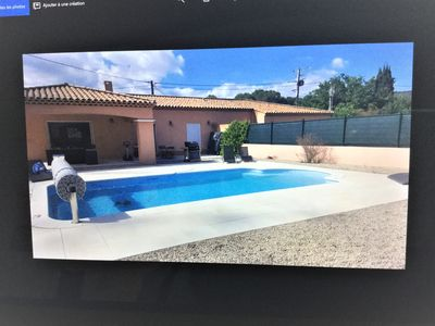 Photo for Trans-Provence villa rental with pool