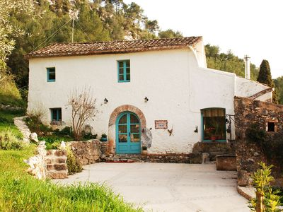 Photo for Masia Mas d'en Giralt. 1722 Catalan Farm House near the sea in Sitges & BCN
