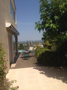 Photo for Villa rental between land and sea. A real haven of peace.