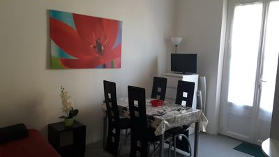 Photo for T2 apartment 34m² with private garden
