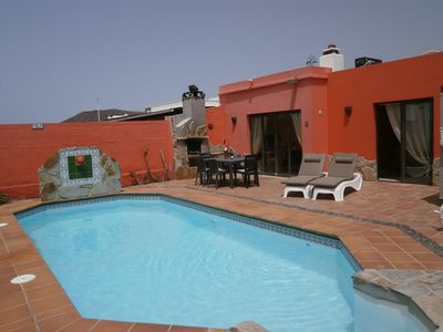 Photo for Villa On Large Private Plot Parking Luxury Heated Pool