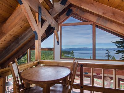 Photo for Lago Azul: Panoramic View Of Lake Tahoe, Access Private Sandy Beach-BuoyPossible