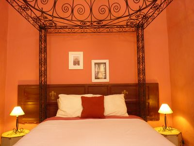 "Photo for ""Las Estrellas"", large apartment, max. 5 people, Moroccan four poster bed"