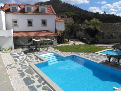 Photo for Beautiful family house with pool in the center of a typical village of Portugal