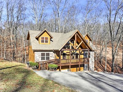 Photo for 'Gold Rush Lodge' Branson Cabin w/Game Room & Deck