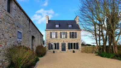 Photo for New: 800m from the beach, beautiful stone family house with enclosed garden