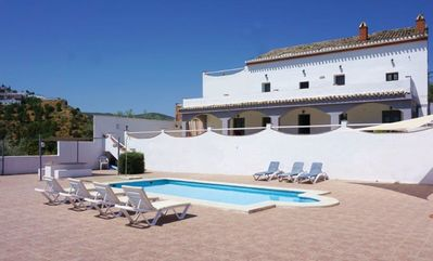 Photo for Stylish  country house, private pool,  Superb location Edge of town in Iznajar