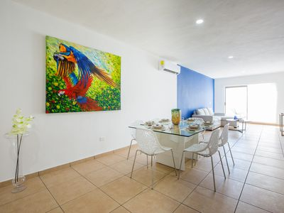 Photo for Central & Elegant & Huge 2BD Flat | Sleep 6 | Private balcony