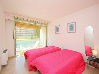 Photo for Apartment 261 m from the center of Cagnes-sur-Mer with Lift, Parking, Internet, Washing machine (109071)