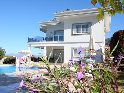 Photo for Stunning Luxury Four Bed Villa, Private Pool, A/C & Sea & Mountain Views