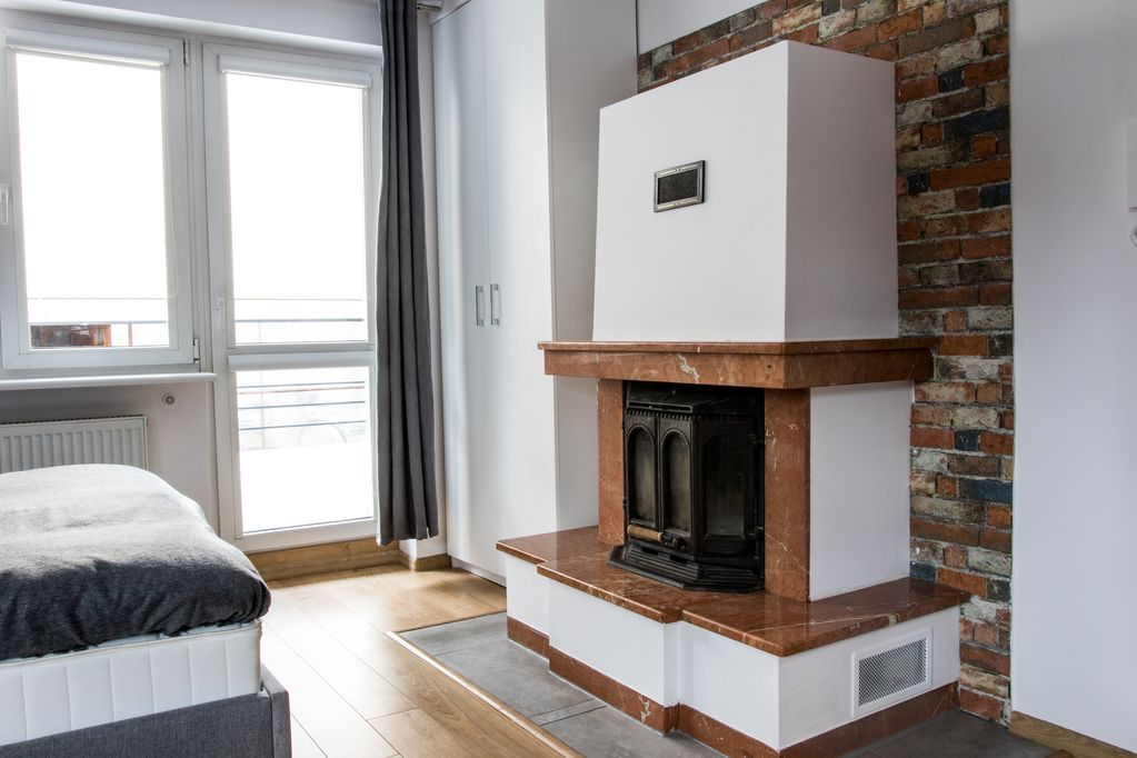 Fireplace Apartment Smart Apartments