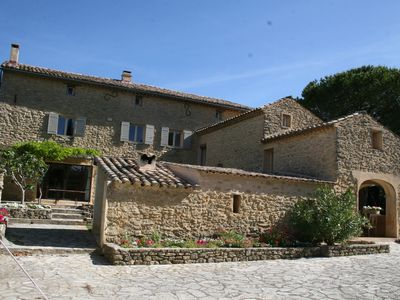 Photo for Multicentennial farmhouse located at the foot of Mont Ventoux