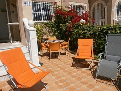 Photo for GRAN ALACANT Townhouse with Garden, Roof Terrace, WiFi, UK TV, Air Con & Heat
