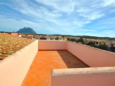 Photo for Porto San Paolo SEA VIEW 400 METERS FROM THE BEACH WITH SOLARIUM 7P
