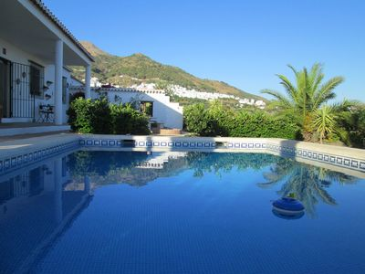 Photo for A Secluded Villa with spectacular views & private pool,the perfect holiday.
