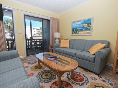 Photo for 3BR @ Pelicans Landing, WiFi/pool/across from beach