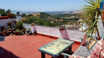 Photo for Charming townhouse in Andalusion white hilltop village. Great views and walking.