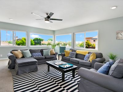 Photo for Pacific Beach 4BD Family Friendly!!!  1 Block to the Bay