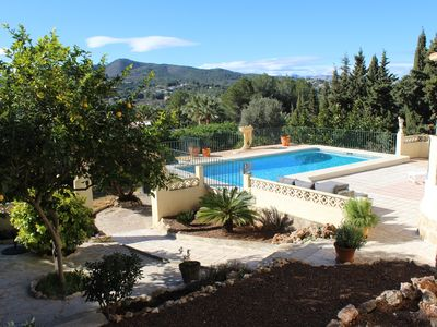 Photo for Luxury house with swimming pool in beautiful location in Jávea. Beach 10 min.
