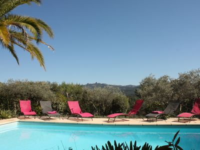 Photo for House / Villa - Bouc bel air, 5 bedrooms, 2000 sq meters garden with a swiming pool and a very nice view on montain.