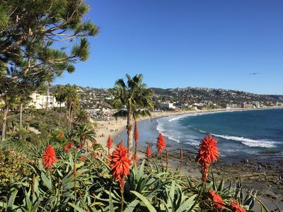 Photo for Charming  Laguna Beach Village Cottage with Large Ocean View Deck
