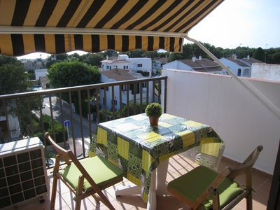 Photo for Apartment 2 with fantastic sea views in Cala Blanca, balcony or terrace