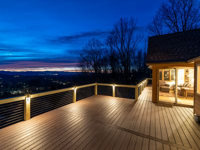 Photo for Sunset Peaks - Exquisite mountain views from a ultra-convenient South Asheville location!