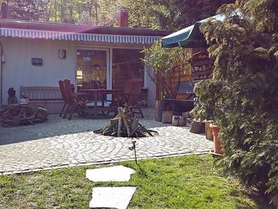Photo for Holiday home in the beautiful Harz region with wood stove, large terrace, barbecue and fire pit