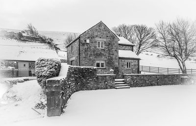 Winter at The Cowshed