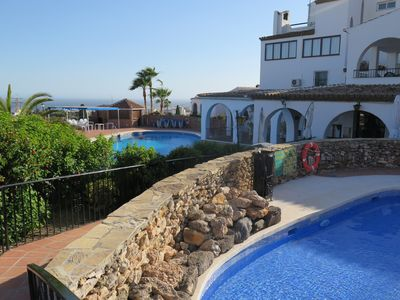 Photo for Detached  3 Bed Villa With Private Garden,Communal Pools And Sea/mountain view