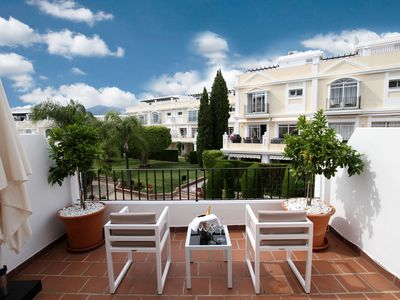 Photo for Spacious 2 bedroom duplex apartment close to Puerto Banus