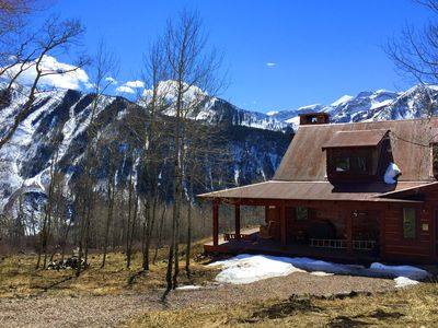 Photo for Colorado Rockies Secluded Luxury Family Compound; Scenic hour drive to Aspen!