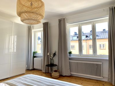 Photo for Bright flat minutes away from Stockholm City