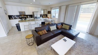 Photo for Luxury on a budget - Bella Vida Resort - Feature Packed Cozy 4 Beds 3 Baths Townhome - 7 Miles To Disney