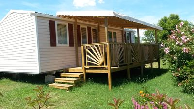 Photo for Rent Mobil home 3 bedrooms, air-conditioned
