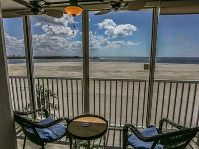 Photo for 2/2 fully remodeled with awesome views of the Gulf at Castle Beach