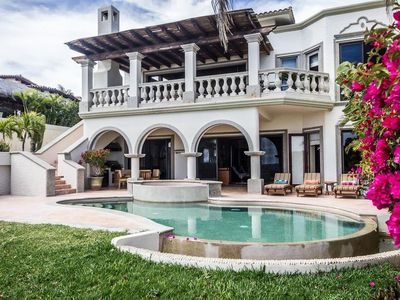 Photo for Villa Mariposa An Exclusive Oceanfront Cabo Villa on a World-renowned Jack Nicklaus Golf Property!