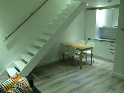 Photo for Stunning one-bed house. Modern, quiet, cosy house close to the centre of London