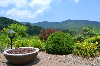 Smoky Mountains from Patio