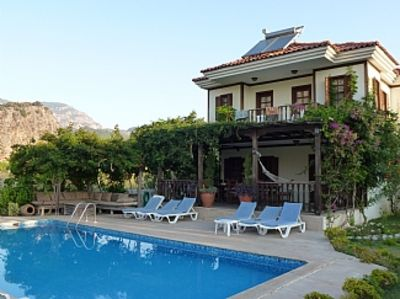 Photo for Villa with Private Pool, Gardens and Mountain Views
